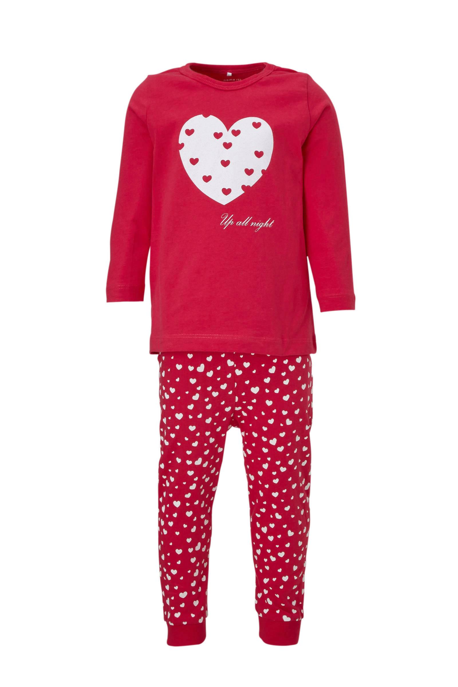wehkamp meisjes pyjama