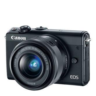 EOS M100 BK + 15 systeem camera