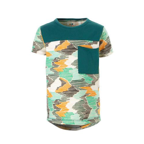 NOP T-shirt Bessemer groen kopen