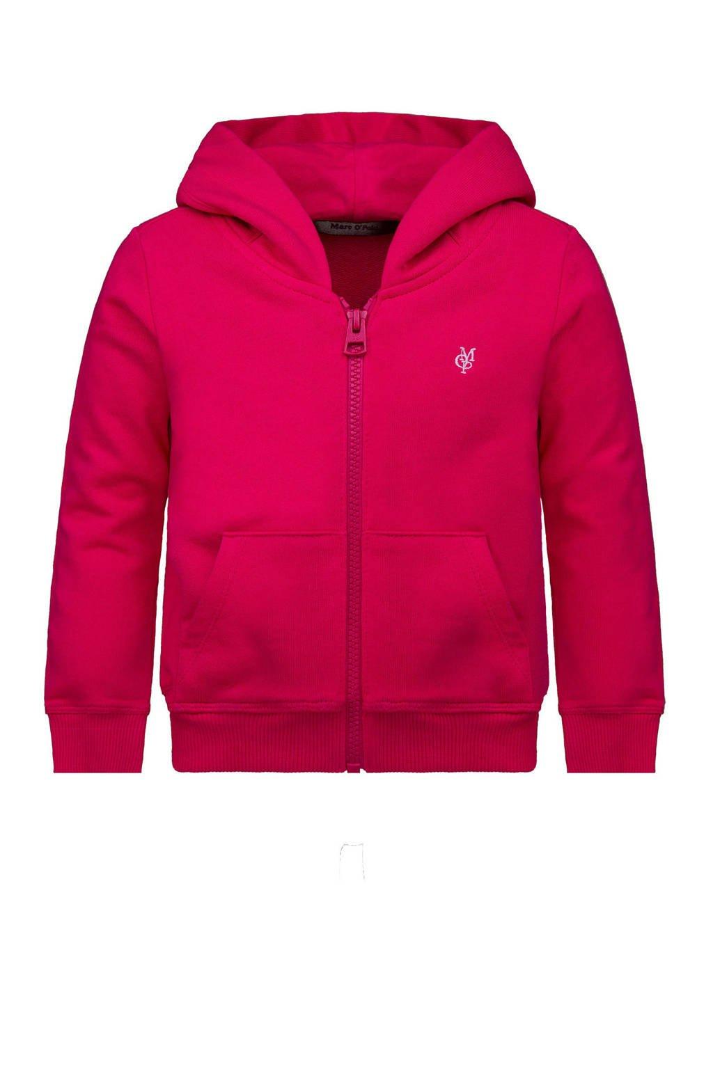 Marc O'Polo vest met logo roze, Roze