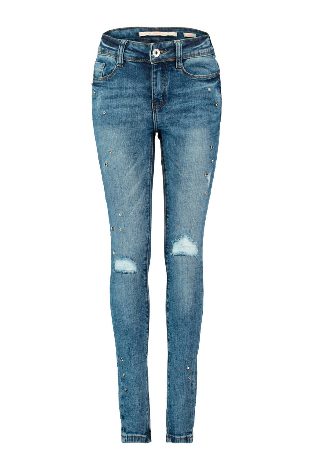 CoolCat skinny fit jeans blauw, Super used