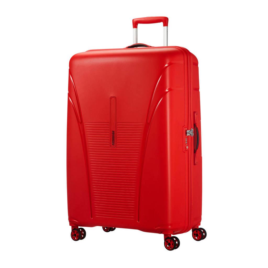 American Tourister Skytracer Spinner koffer (82 cm), Formula red