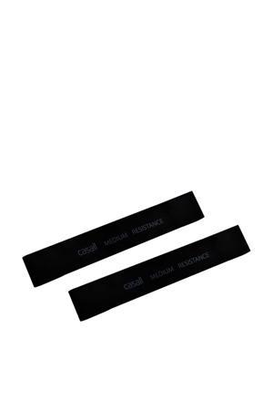 Rubber band Medium 2 stuks - zwart