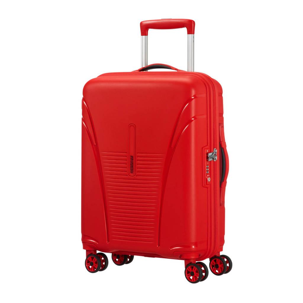 American Tourister Skytracer Spinner koffer (55 cm), Formula red
