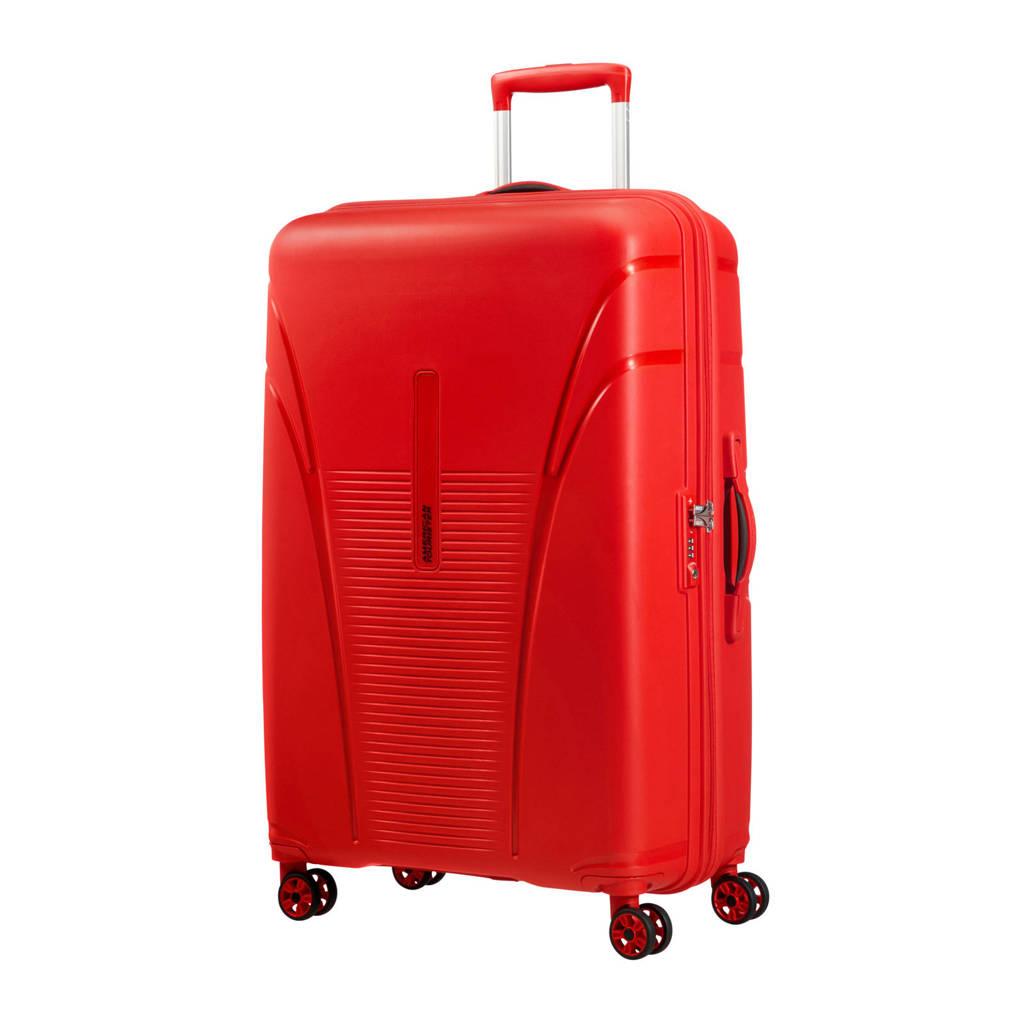 American Tourister Skytracer Spinner koffer (77 cm), Formula red