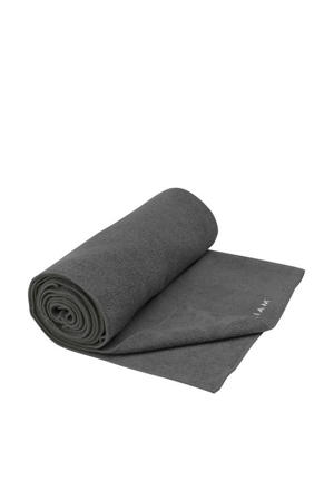 Grippy Athletic yogahanddoek grijs