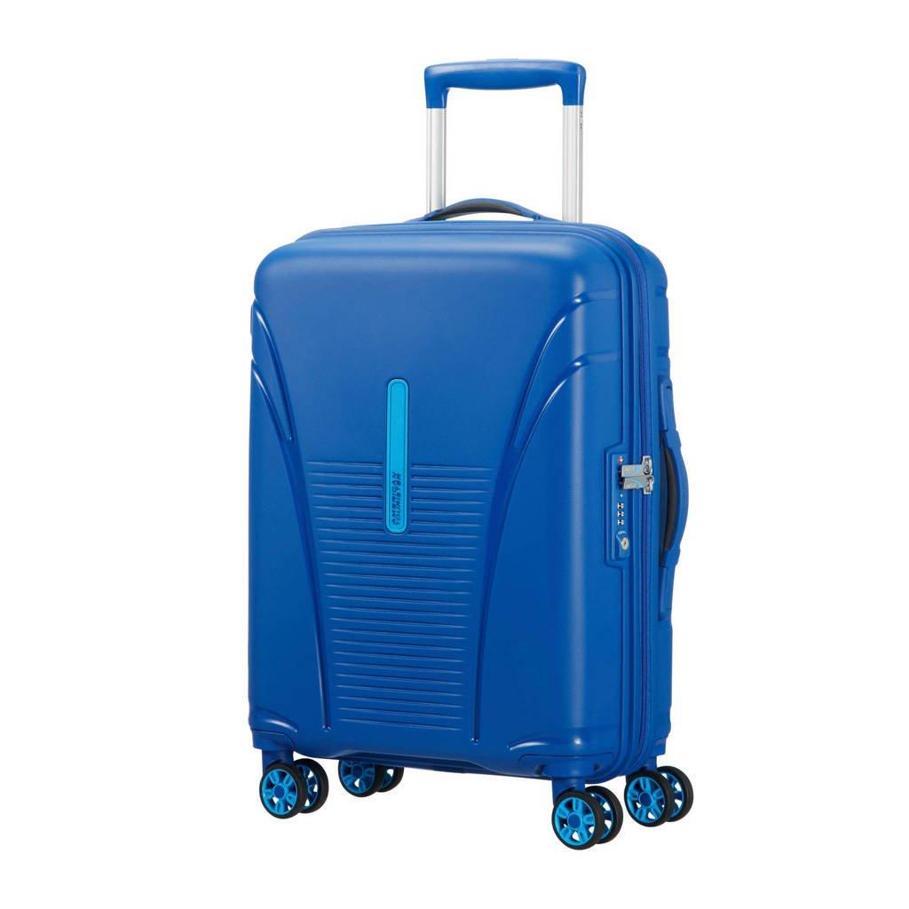American Tourister Skytracer Spinner koffer (55 cm), Highline Blue