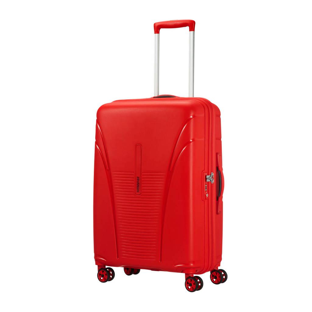 American Tourister Skytracer Spinner koffer (68 cm), Formula red