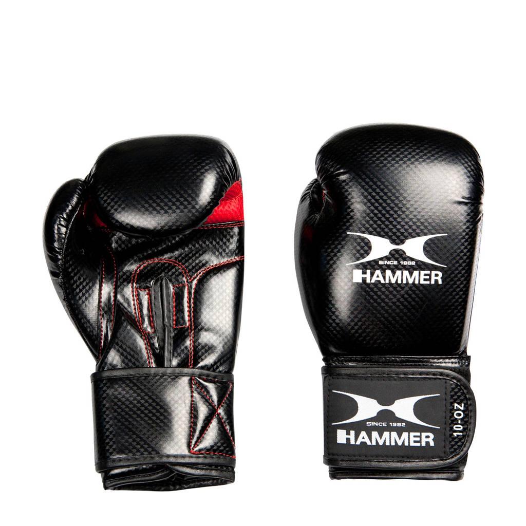 Hammer Bokshandschoenen X-Shock Lady - 10 OZ, Zwart/wit/rood