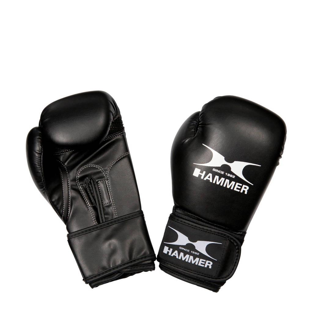 Hammer Boxing Kinderbokshandschoenen Blitz - 6 OZ, Zwart/wit