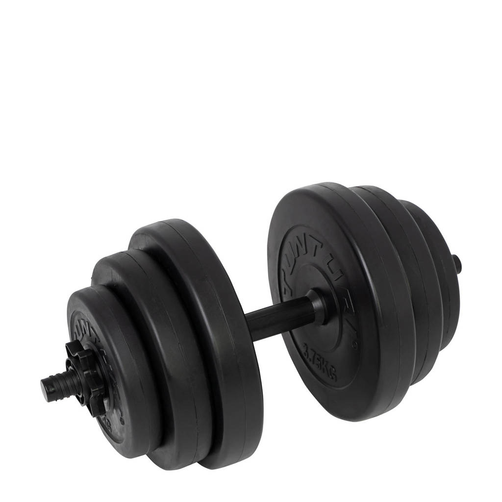 Tunturi  Dumbbellset 15 kg, Zwart