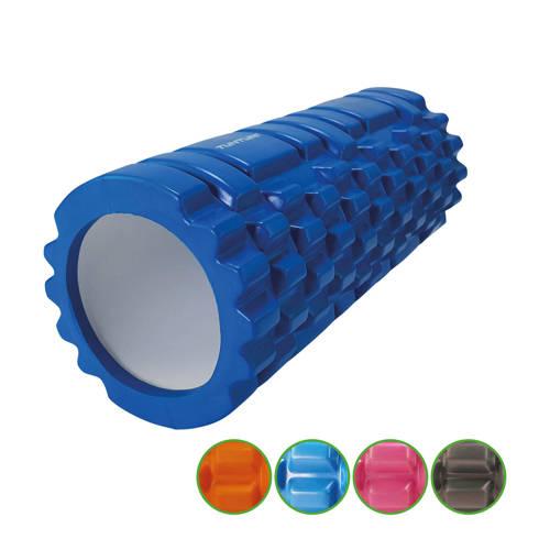 Tunturi Yoga Grid Foam Roller Massage blauw kopen