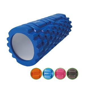 Yoga Grid Foam Roller - Massage Roller - blauw