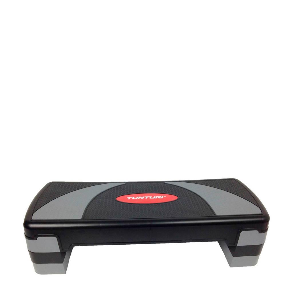 Tunturi Aerobic Stepper Compact - Verstelbaar, Zwart/grijs