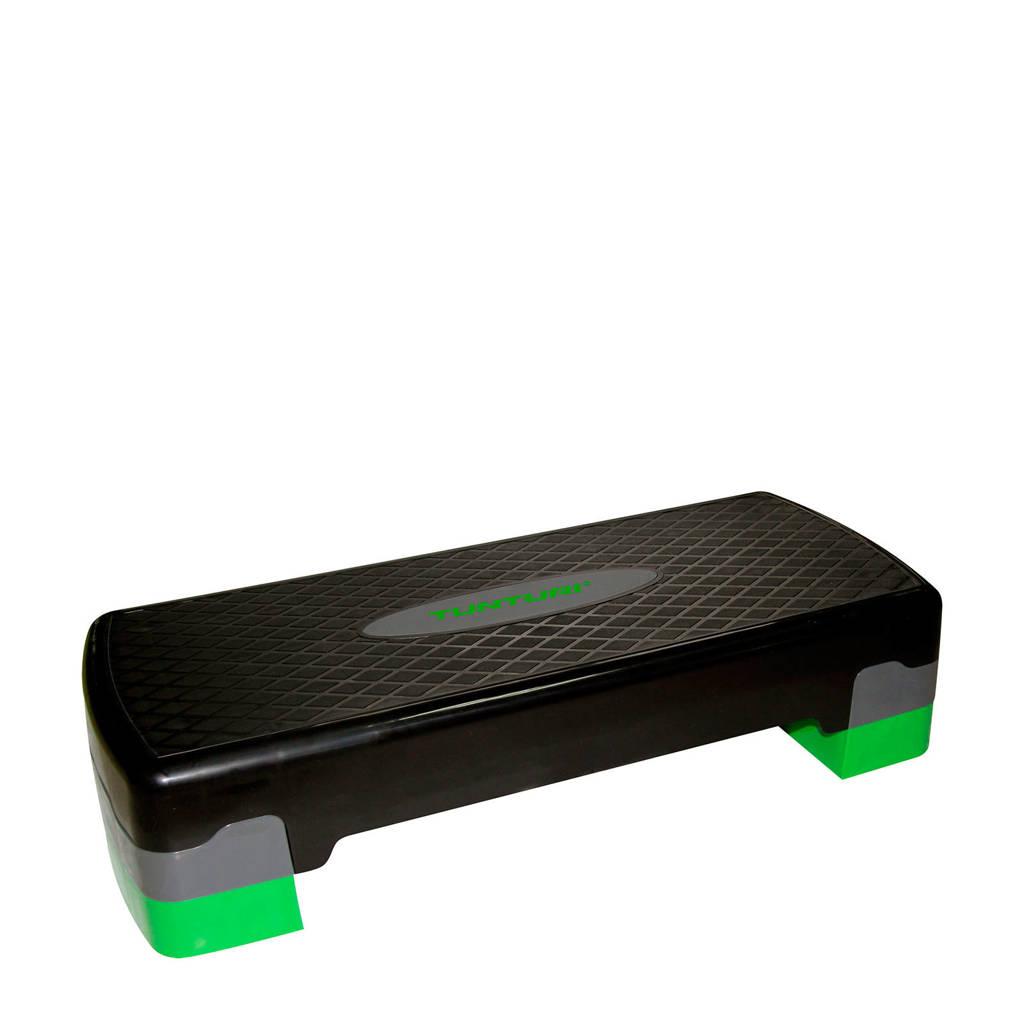 Tunturi Aerobic Step Easy - Verstelbaar - Zwart, Zwart/grijs