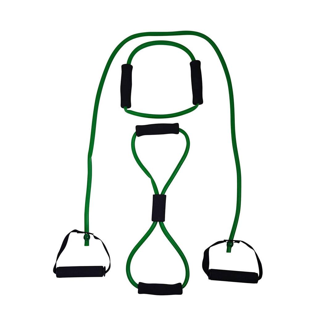 Tunturi Tubing met Handvatten - Medium Groen