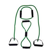 Tunturi Tubing met Handvatten - Medium Groen, Groen/Medium