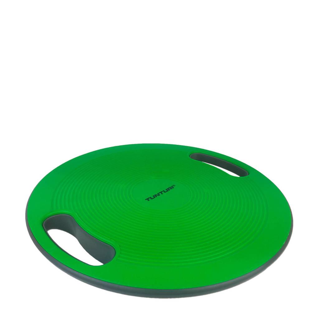 Tunturi Balans Bord - Balance board, Groen/zwart