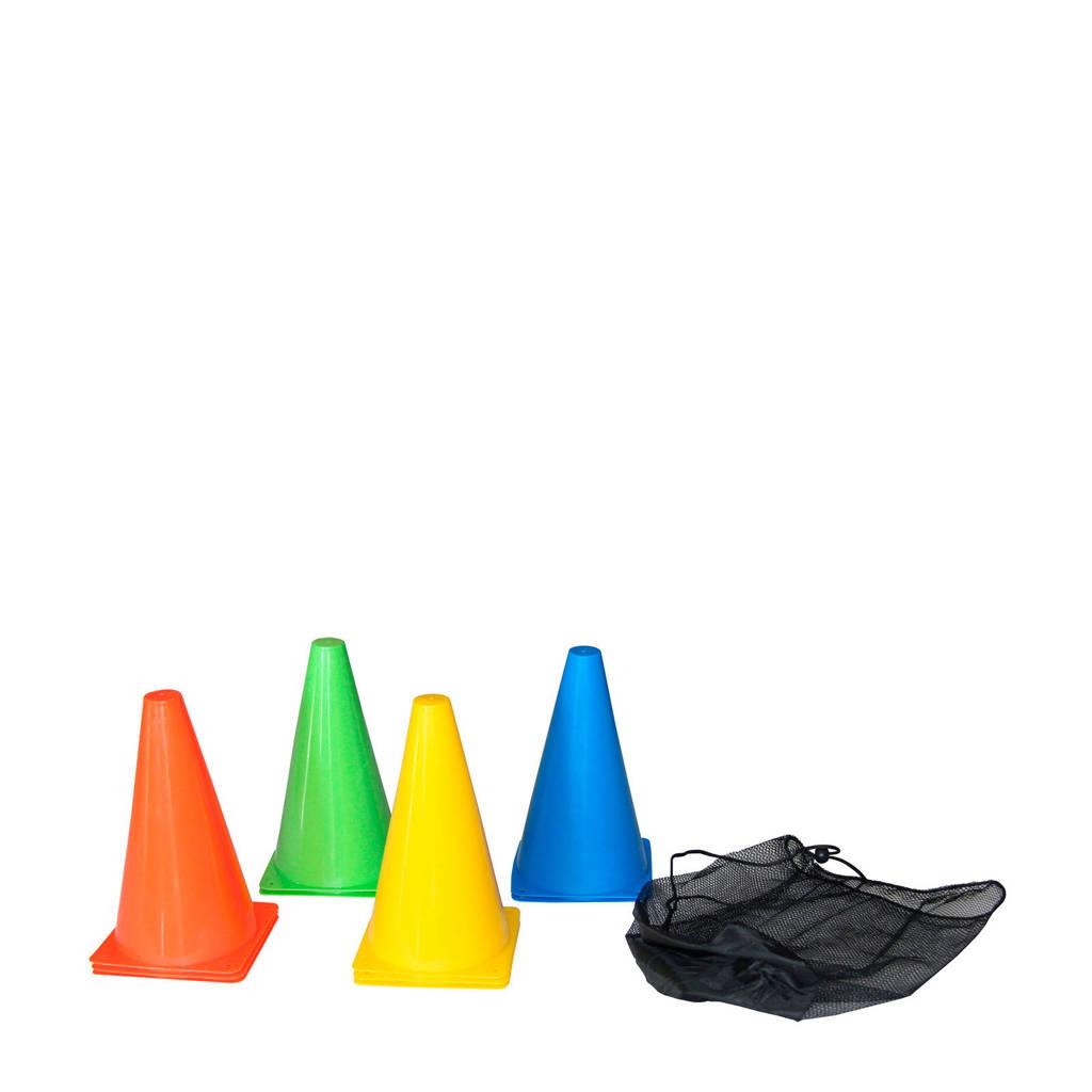 Tunturi Voetbalpionnen - 23 cm hoog, Multi