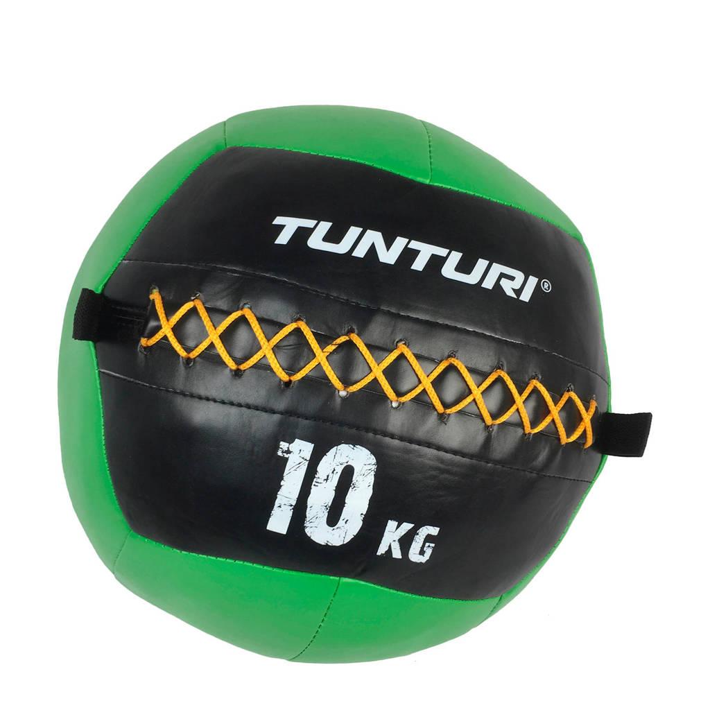 Tunturi Wall Ball - Medicine ball - 10kg - Groen