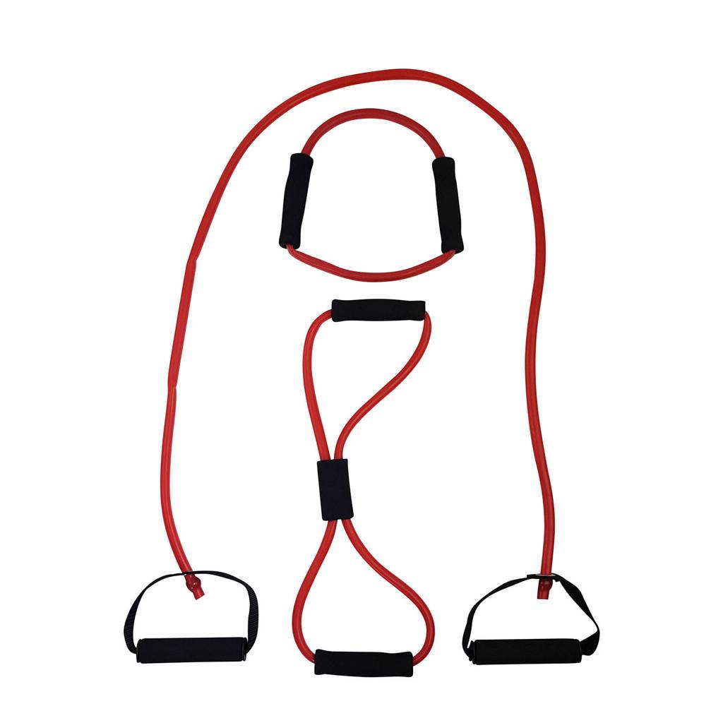 Tunturi Tubing met Handvatten - Zwaar Rood, Rood/Zwaar