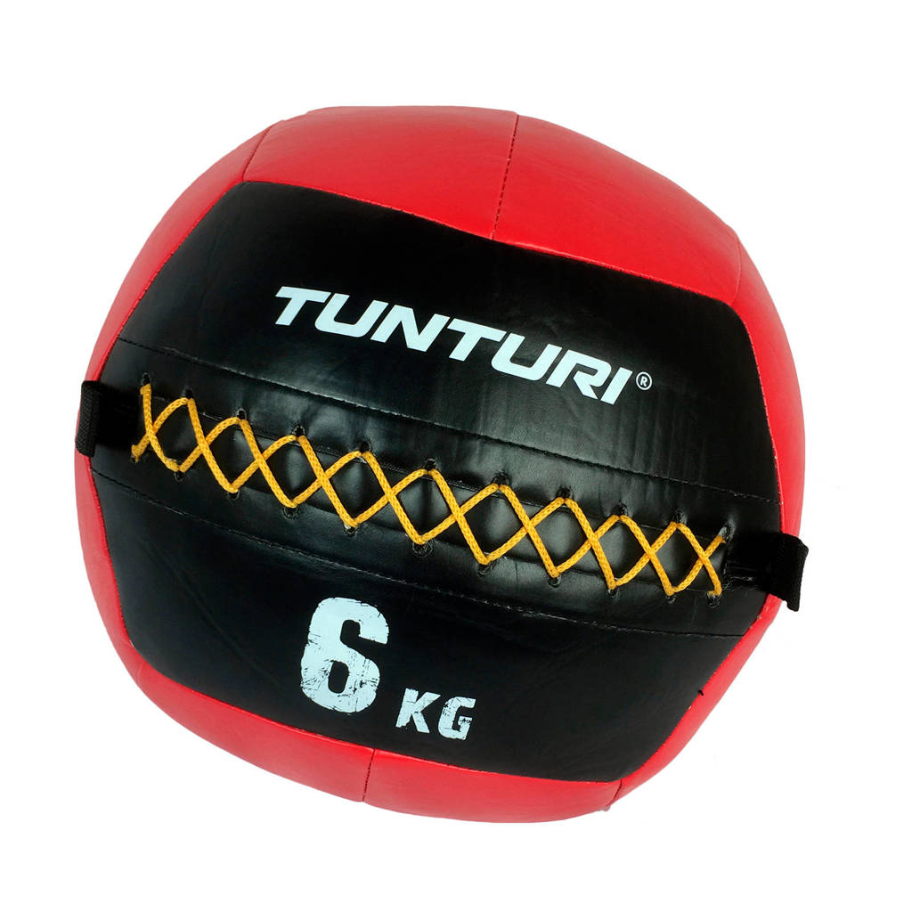 Tunturi Wall Ball - Medicine ball - 6kg - Rood