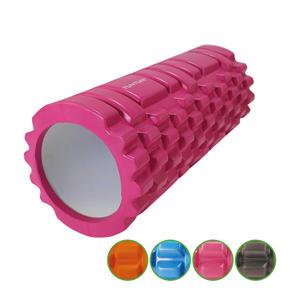 Yoga Grid Foam Roller - Massage Roller - roze