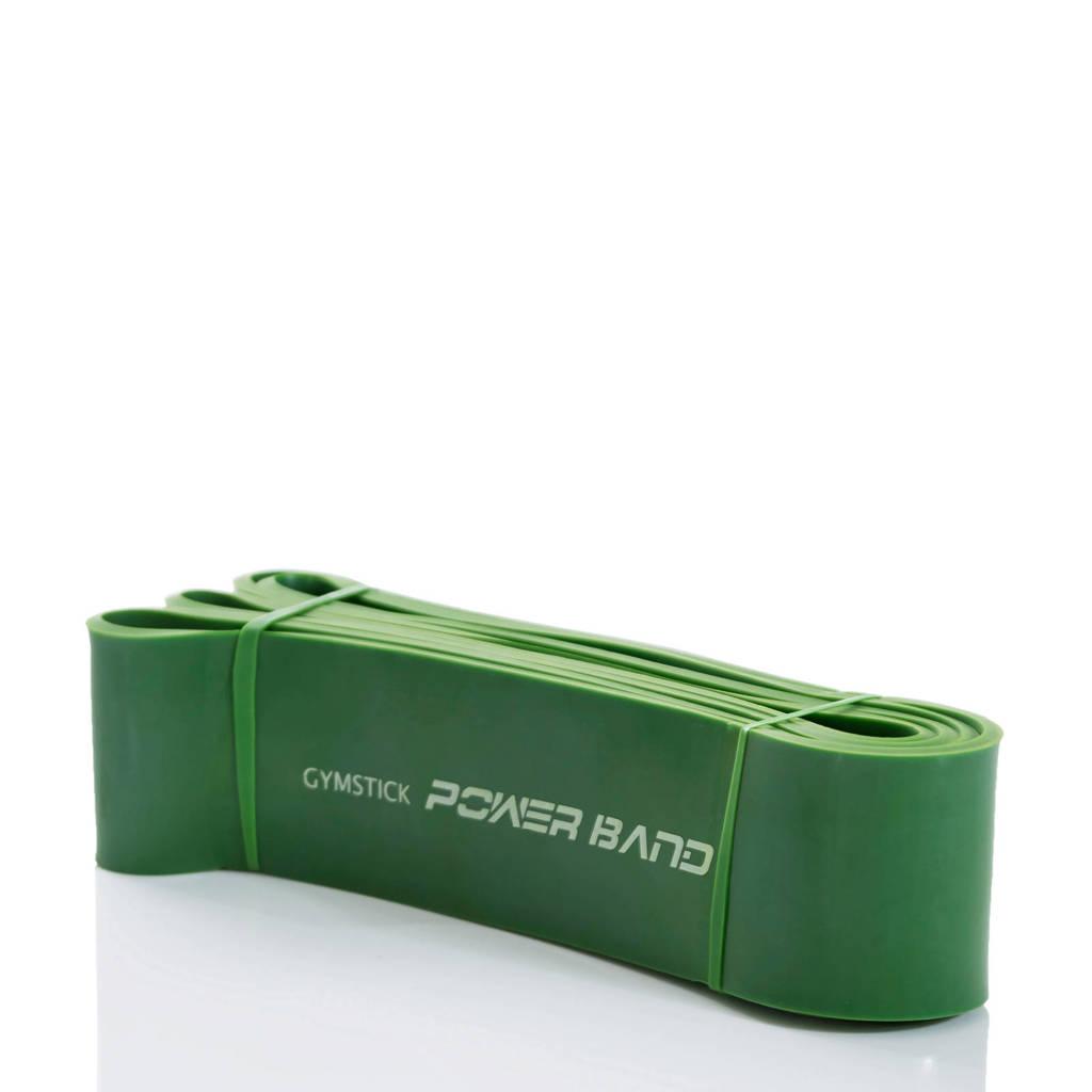 Gymstick weerstandsband extra strong (tot 100 kg) met trainingsvideo's, Groen