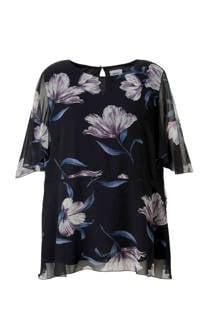 C&A XL Yessica top met bloemen (dames)