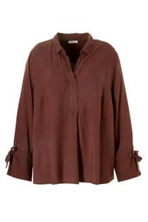 C&A XL Yessica blouse met ruiten (dames)