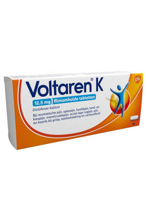 12,5 mg Filmomhulde pijnverlichtende tabletten - 10 stuks