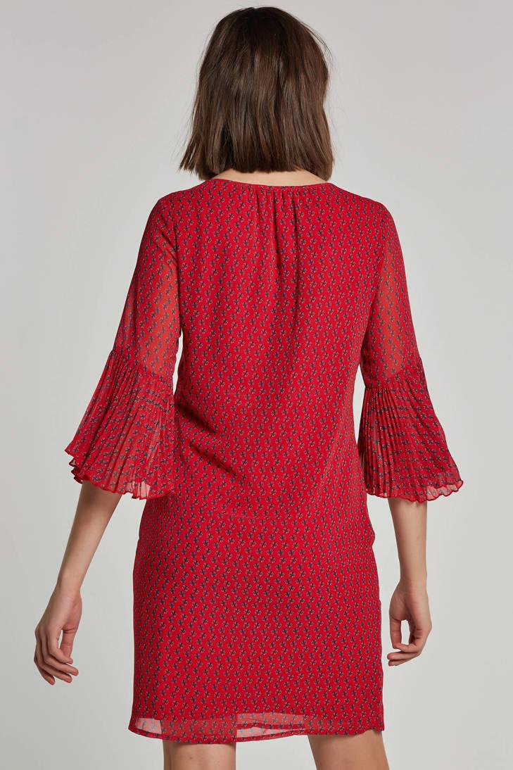 rood jurk print all Tramontana over met P6S7qz