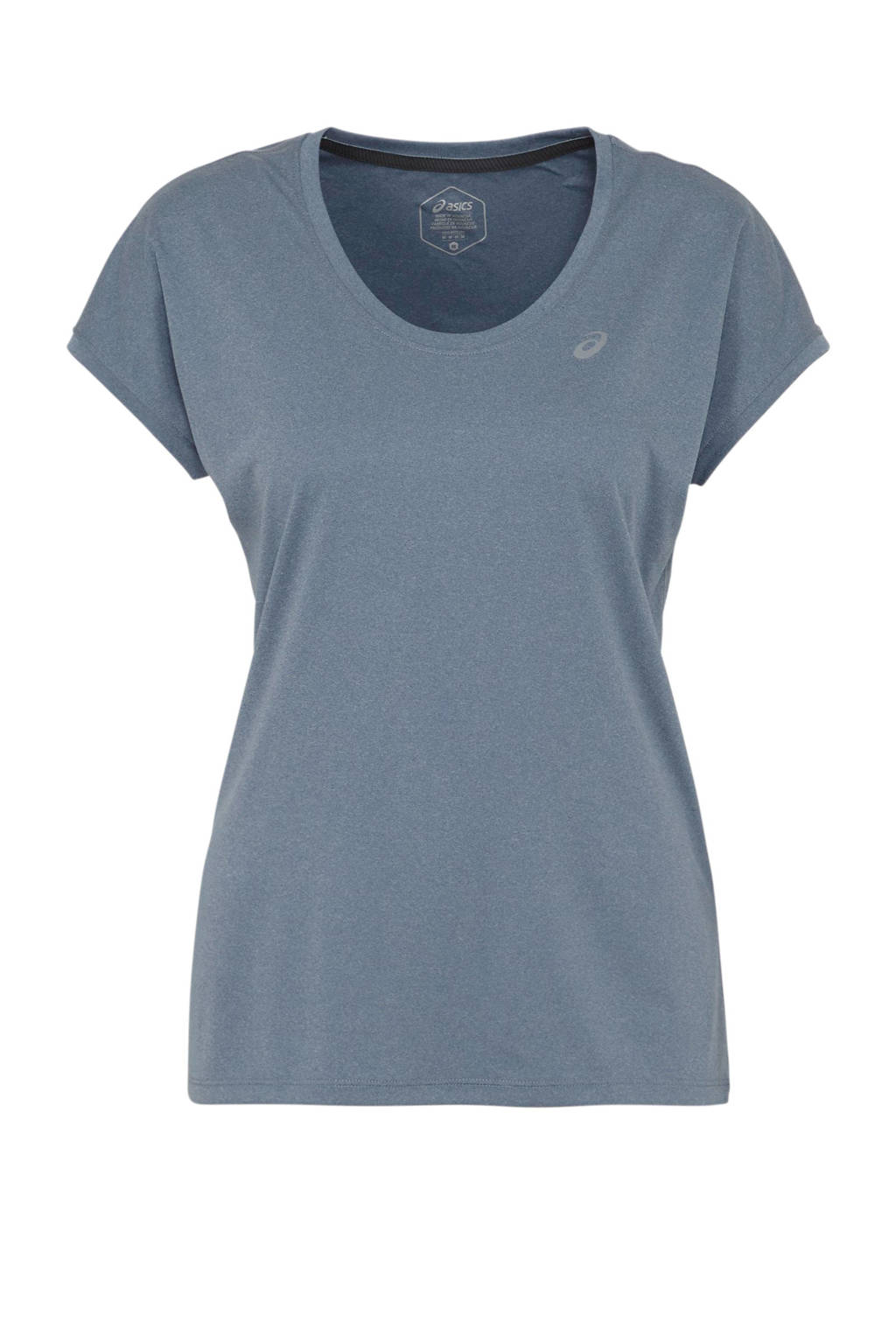 ASICS hardloop T-shirt donkerblauw, Donkerblauw