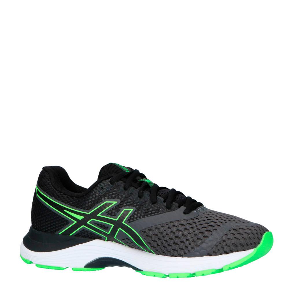 ASICS Gel-Pulse 10 hardloopschoenen zwart, Zwart/groen