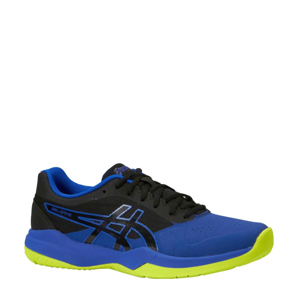 ASICS Gel-Game 7 tennisschoenen blauw/zwart, Blauw/zwart/geel