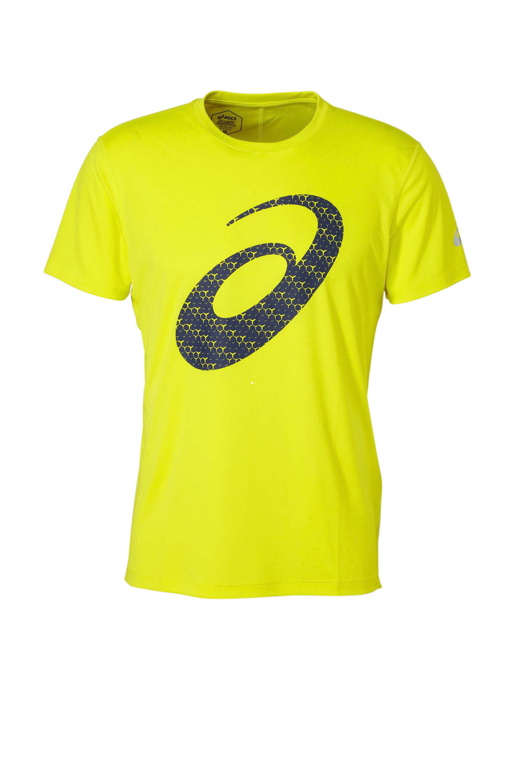 ASICS   hardloop T-shirt geel, Geel