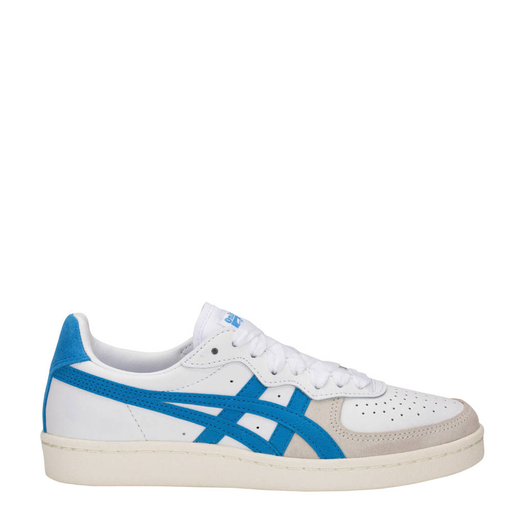 official photos 493d0 e5af4 ASICS Onitsuka Tiger GSM leren sneakers wit blauw, Wit blauw