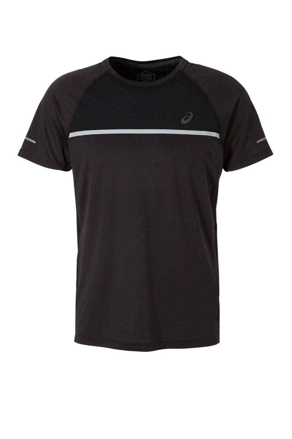 ASICS   hardloop T-shirt zwart, Zwart