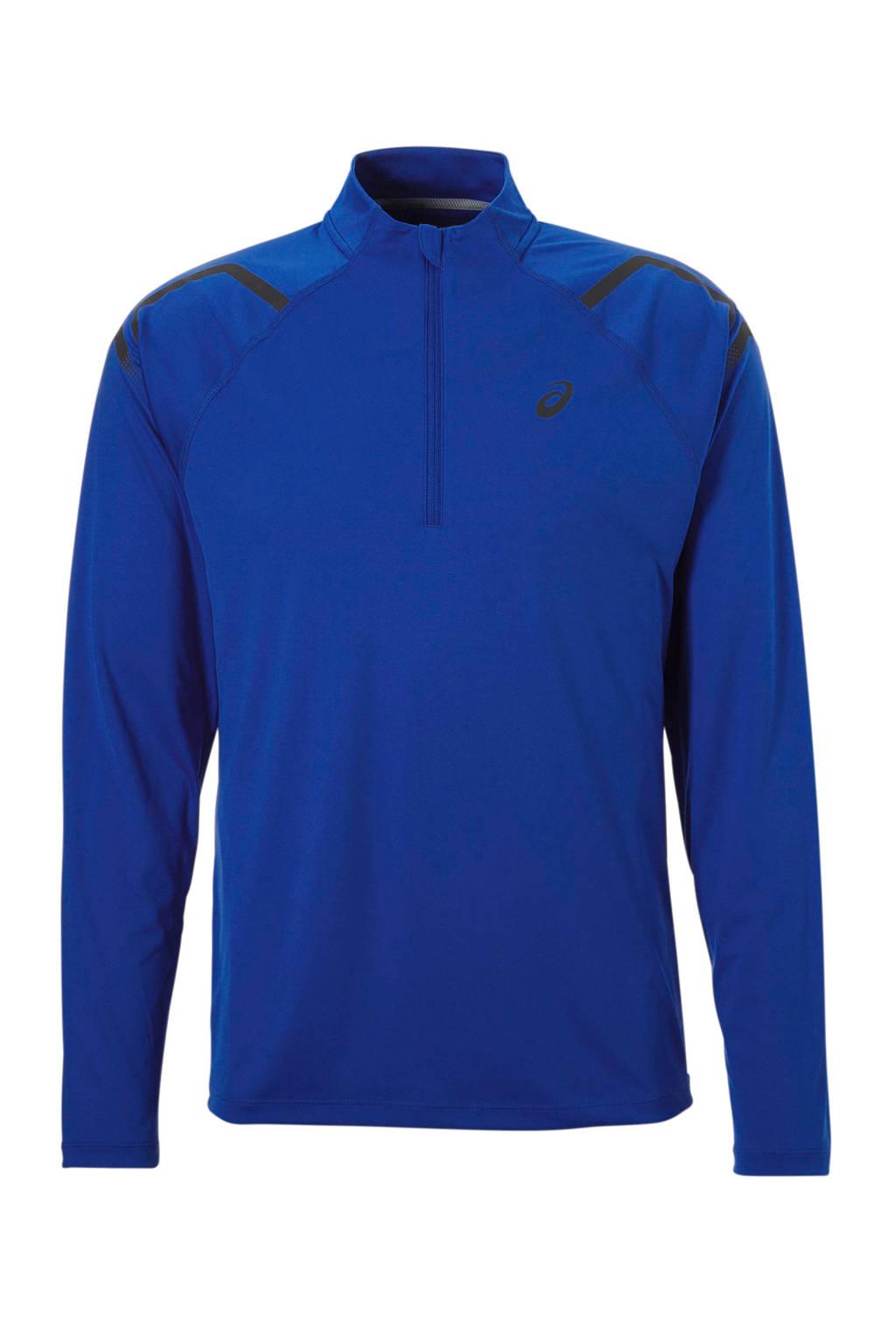 ASICS   hardloop T-shirt blauw, Blauw