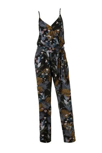 jumpsuit met wikkel-look top