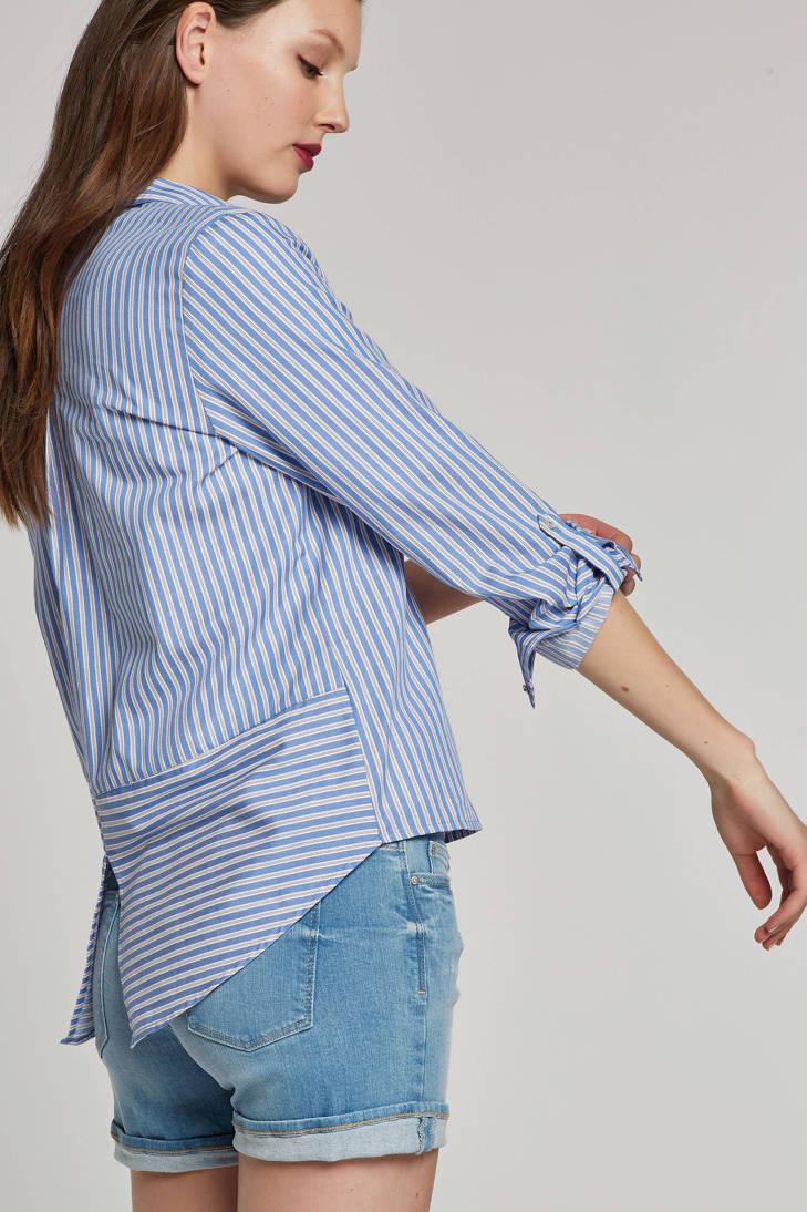 ESPRIT edc met Women gestreepte blouse split ffw4rqgn