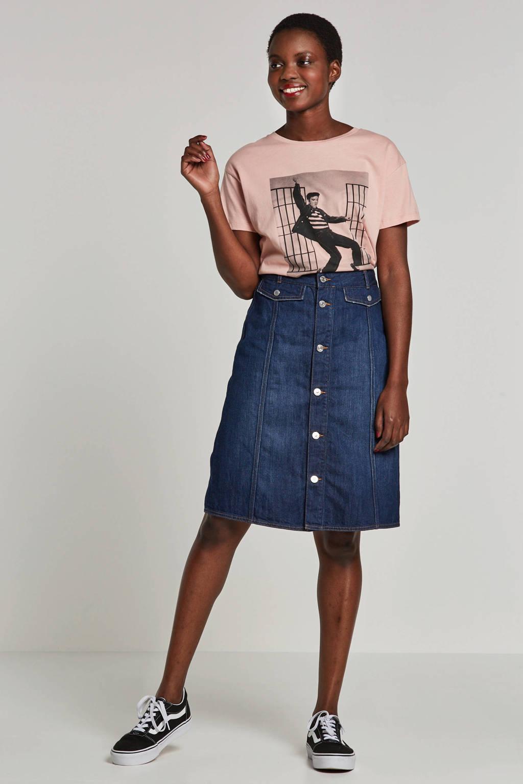 edc Women spijkerrok, Donkerblauw
