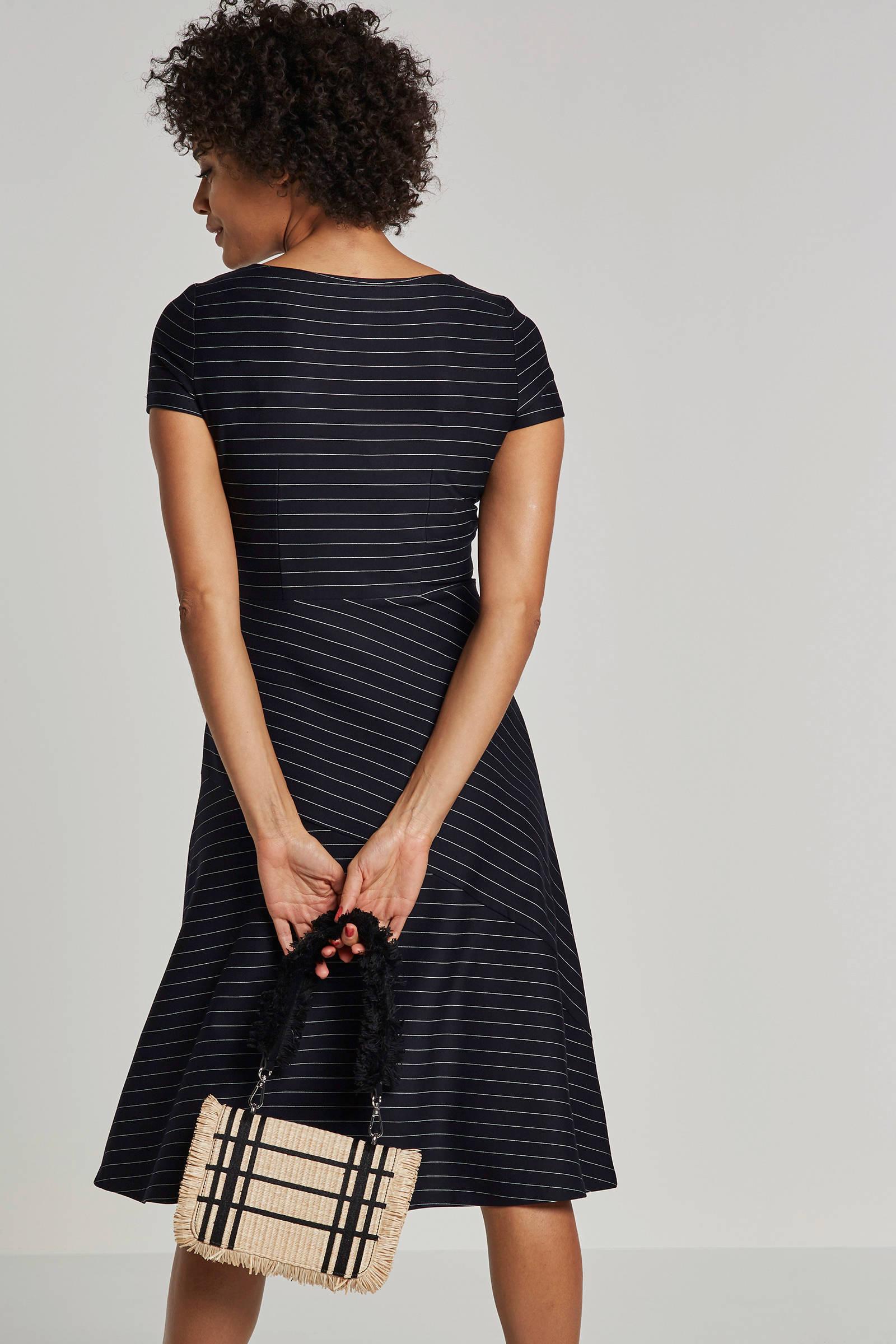 esprit jurk zwart wit