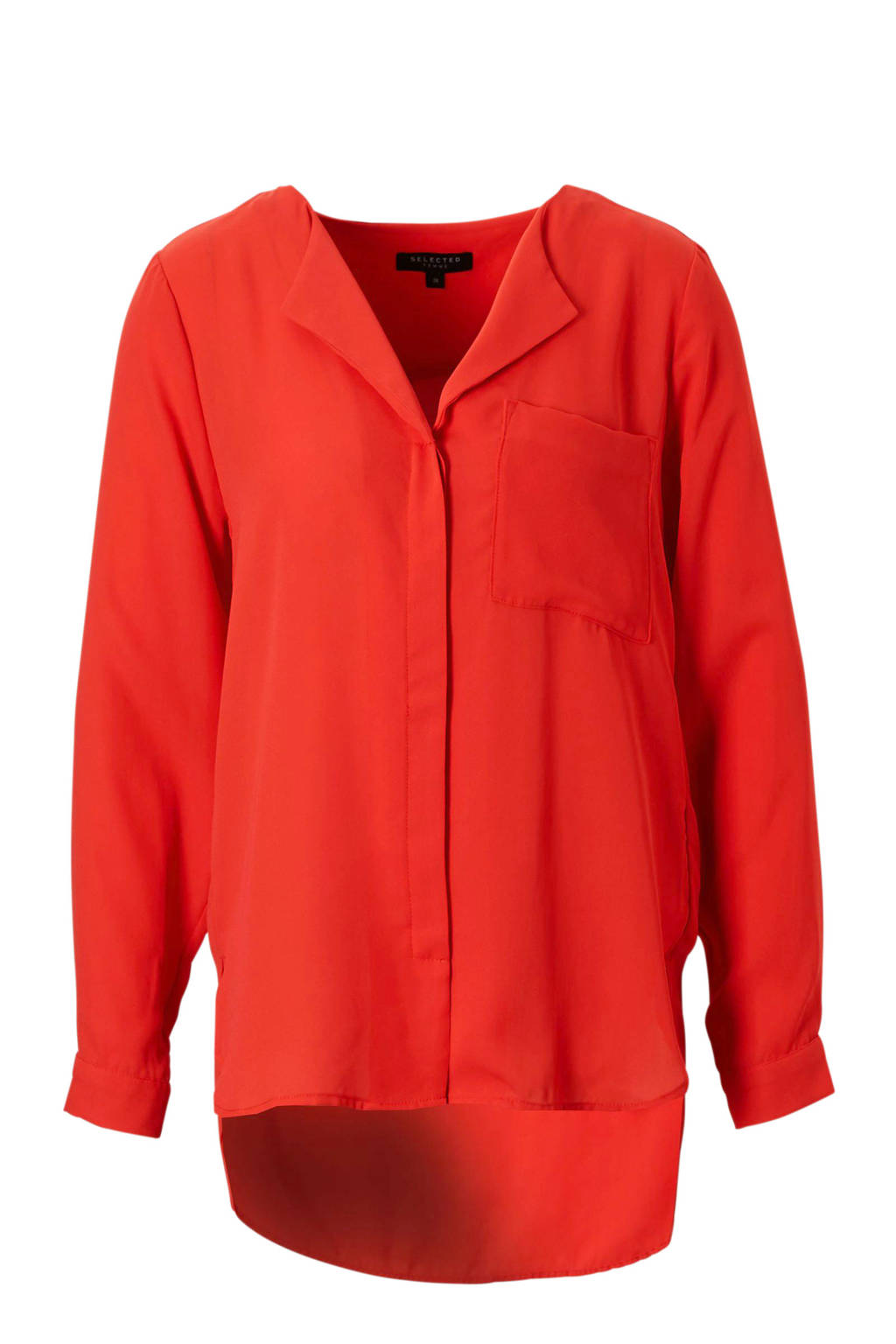 SELECTED FEMME blouse, Rood