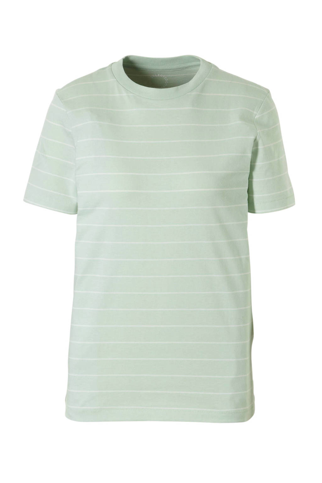SELECTED FEMME gestreept T-shirt, Lichtgroen
