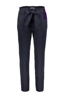 Sissy-Boy pantalon met striksluiting marineblauw (dames)