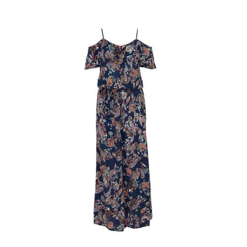 whkmp's beachwave offshoulder jurk met rush en pai