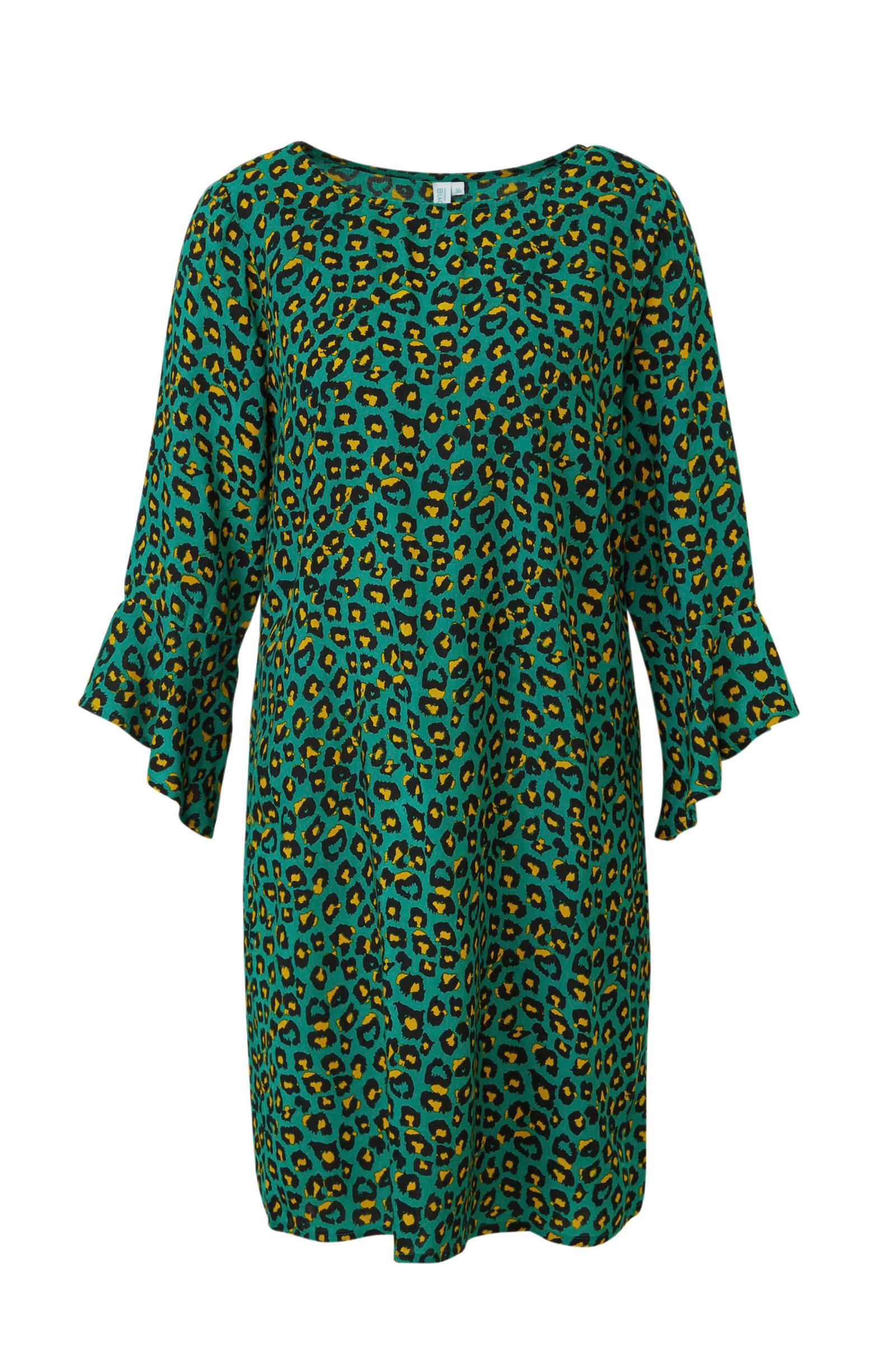 groene jurk wehkamp
