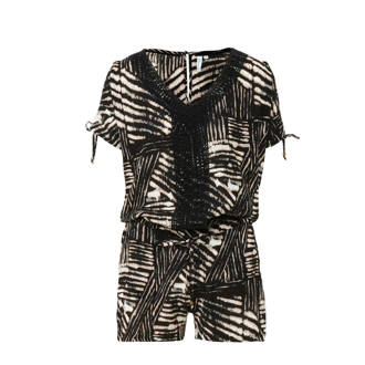 playsuit all over print