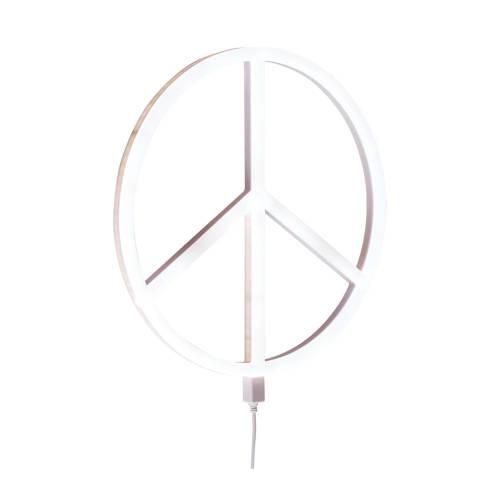 A Little Lovely Company wandlamp Peace kopen